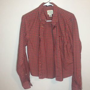 Formal button down flannel